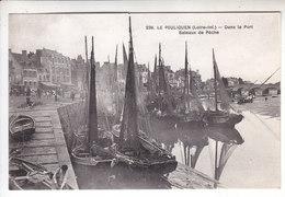 Sp- 44 - LE POULIGUEN - Dans Le Port - Bateaux De Peche - Voiliers - Barque - - Le Pouliguen