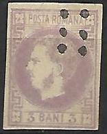 ROUMANIE      -     1868.     Y&T N° 18 Oblitéré - 1858-1880 Moldavia & Principato