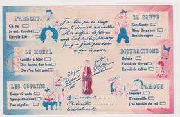 Franchise Militaire, Année 1940, Pub Coca-Cola - France
