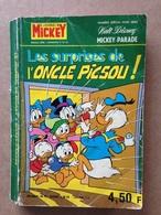 Disney - Mickey Parade - Année 1976 - N°1251 Bis (avec Grand Défaut D'usure) - Mickey Parade