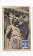 Carte Maximum 1944 Le Sourire De Reims - Cartes-Maximum