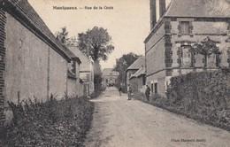 Montgueux.  Rue De La Croix - Francia