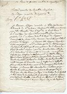 MEMBRE DU CONSEIL DES CINQ-CENTS RIVAUD. LAS AN6? AU MINISTRE DE LA GUERRE POUR LE TRANSFERT D'UN LIEUTENANT - Autographs