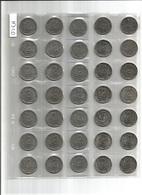 Lot 43 Pièces De Monnaie 2 Francs Semeuse  Et  Commémoratives - France