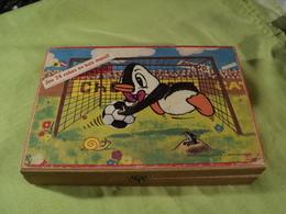VIEUX JEU DE CUBES NESTOR LE PINGOUIN. JEUJURA. ANNEES 70? DAVID MICHEL JUNIOR. - Puzzle Games