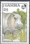 Gambia Gambie 1988 Yvertn° 701 *** MNH Faune Hippopotame Nijlpaard Cote 20 FF - Gambie (1965-...)