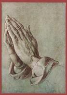 Schilderkunst De Handen, Tekening Van A. Dürer, Privaat Postwaardestuk; 2 Scan - Stamps