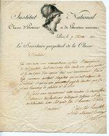 208. HISTORIEN PHILOLOGUE BON-JOSEPH-DACIER (VALOGNES 1742-PARIS 1833) LAS 1810 ADRESSEE AU POÊTE LABOUÏSSE-ROCHEFORT - Autógrafos
