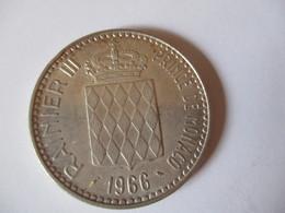 Monaco: 10 Francs 1966 - 1960-2001 Nouveaux Francs