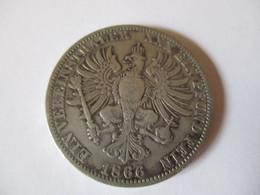 Germany: Thaler Preussen 1866 - Taler Et Doppeltaler