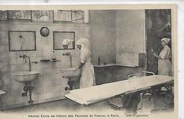 75, Paris, 15 ème, Hopital Ecole De L'Union Des Femmes De France, à Paris - Salle D'Opération, Scan Recto-verso - Paris (15)