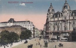 Bucarest - Victoriastrasse , Tram - Romania