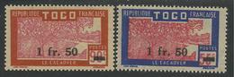 TOGO 1944 YT 228/229** - Togo (1914-1960)