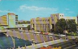 Nevada Reno Post Office and The Holiday Hotel & Casino 1964