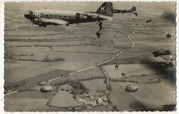Real Photo  Parachutisme Largage Photo Collin à Chaville - Paracadutismo