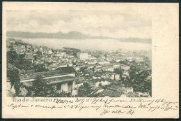 1902 Brazil Rio De Janeiro Postcard - Herz.Buchsee, Switzerland - Brazil