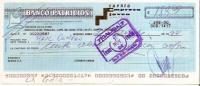 ARGENTINA CHECK CHEQUE BANCO PATRICIOS AG. VILLA LURO 1994 EMPRESA - Assegni & Assegni Di Viaggio