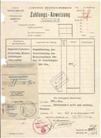 Gemeinde DEUTSCH-RUMBACH  - Décembre 1940 - Zahlungs Anweisung En Allemand Sur Formulaire En Allemand - - France