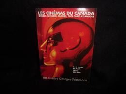 """Cart' Com .PORT GRATUIT ( Voir ) Cinéma. """" Les Cinémas Du Canada """" Pompidou 1993.Voir 2 Scans . - Publicité Cinématographique"""