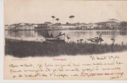 Cpa Brazil Bresil Paranagua  1904 - São Paulo