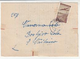 Yugoslavia Slovenia 2 Documents Travelled As Letters 1950 Kočevje To Osilnica B181025 - Slovenia