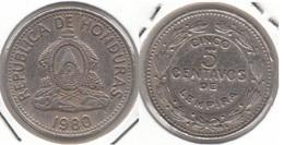 Honduras 5 Centavos 1980 KM#72.2 - Used - Honduras