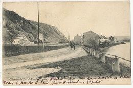Chemin De Fer Et Pont D' Yvoir Namur Envoi à Arcueil Seine - Yvoir