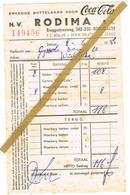 Roeselare : 1956, N.V. Rodima - Coca-Cola - 1950 - ...