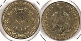 Honduras 10 Centavos 1993 KM#76.2a - Used - Honduras