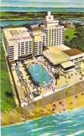 USA Etats-Unis (  FLORIDA FL ) MIAMI BEACH : CADILLAC Hotel - Ocean Front - 39 T To 40 Th Streets - CPSM Format CPA - - Miami Beach