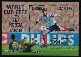 ZAMBIE BF 98  * *  ( Cote 11e )   Cup 2002  Football Soccer Fussball  Salenko - Coupe Du Monde