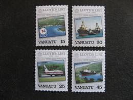 VANUATU: TB  Série N° 690 Au N° 693, Neufs XX. - Vanuatu (1980-...)