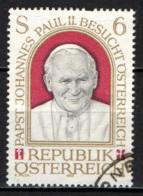 AUSTRIA - 1983 - VISITA DEL PAPA IN AUSTRIA - USATO - 1945-.... 2a Repubblica