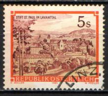 AUSTRIA - 1985 - MONASTERO BENEDETTINO DI S. PAUL A LAVANTTAL - USATO - 1945-.... 2a Repubblica