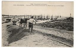 17 CHARENTE MARITIME - LA COTINIERE Travaux Du Désensablement Du Port - Ile D'Oléron