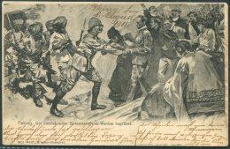 1901 China Boxer Rebellion, Max Wolff Postcard. Peking - Darmstad Germany. Postage Due, Taxe - China