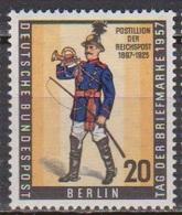 Berlin 1957 Mi-Nr.176 ** Postfr. Tag Der Briefmarke  BEPHILA In Berlin B 414a )günstige Versandkosten - Neufs