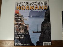PATRIMOINE NORMAND N°42 DE MAI 2002. CHATEAUX ET MANOIR DU VAL DE SAIRE... CABOURG / VEULES LES ROSES / COURTOMER / BRE - Normandie