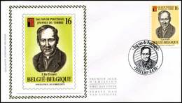 "BELG.1995 2596 FDC Zijde-soie (Lier) : ""  Dag Van De Postzegel / Journée Du Timbre  "" - FDC"