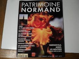 PATRIMOINE NORMAND N°32 D AVRIL 2000. LA PLACE SAINT PIERRE A CAEN... LE FROMAGE / LA COUTURE BOUSSEY BERCEAU DES INSTR - Normandie