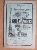 POMPIERS - FEUERWEHR - FIRE BRIGADE - POMPIERI - G.D. MAGIRUS - PREISLISTE DER FEUERWEHR-GERÄTE FABRIK - 1898 - Vieux Papiers