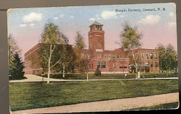 United States ** & Postal,Durgin Factory, Concord  N.H (6886) - Concord