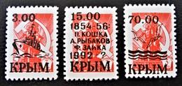 CRIMEE - SURCHARGES COMMEMORATIVES NOIRES 1992 - NEUVES - PH CRI035 - Ucrania