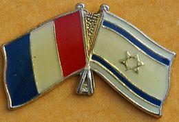 GG 122.....DRAPEAUX......FRANCE  ET  ISRAEL - Autres