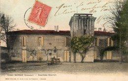 CPA - BARSAC (33) - Aspect Du Château Coutet En 1906 - France