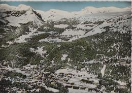 En Avion Au-dessus De Montana-Crans - Flugaufnahme Perrochet - VS Valais