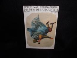 """Cart' Com .PORT GRATUIT ( Voir ) Cinéma. """" Festival  Du  Film   """" La Rochelle .1993. Voir 2 Scans . - Publicité Cinématographique"""