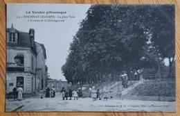 85 : Fontenay-le-Comte - La Place Viète à La Route De La Châtaigneraie - Animée : Petite Animation - (n°13423) - Fontenay Le Comte