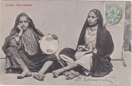 Bs - Cpa Egypte - Jeunes Filles Arabes - Otros