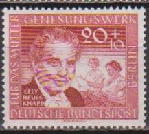 Berlin 1957 Mi-Nr.178 ** Postfr. Deutsches Mütter-Genesungswerk (B 1055a )günstige Versandkosten - Neufs